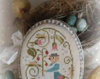 WITH THY NEEDLE Here A Peep There A Peep! counted cross stitch patterns at thecottageneedle.com Easter 2018 Nashville Market