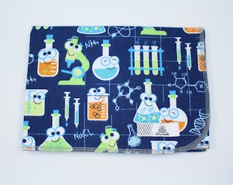 """Science Lab Extra Large Receiving Blanket - 36"""" x 42"""""""