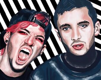 Tyler and Josh Print