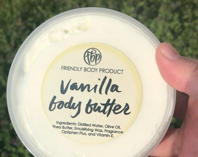 Body Butter - Vanilla - Lotion