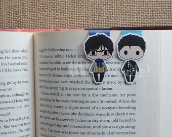 Magnetic Bookmarks • Figure Skaters, The Shy One