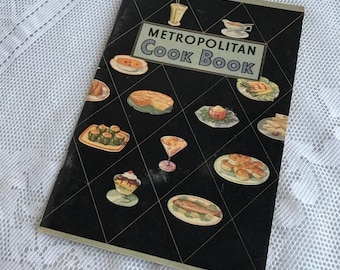Vintage Metropolitan Cookbook / Paperback Pamphlet from the 1930's by Metropolitan Life Insurance Company