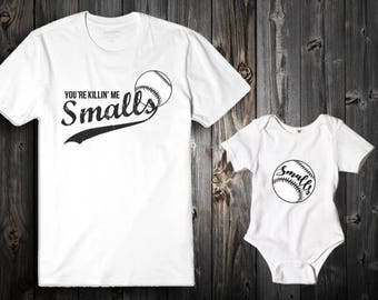 Father's Day / Smalls / Matching shirts / Father daughter / Father son / Matching dad shirt / Gifts for Dad / Custom shirts / Vinyl