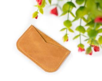 Front Pocket Wallet Card Wallet Minimalist Wallet Credit Card Wallet Leather Card Wallet Wallet Monogram Wallet Card Small Wallet Cardholder