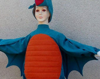 Dragon  costume for toddlers, kids and adults