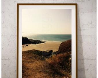 Golden Sand | Beach Office Decor, Beach Cottage Life, Beach Art Print, Cottage Wall Decor, Cottage Wall Art, Cottage Style Decor, Ocean Life