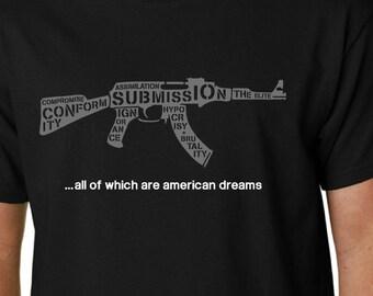 Know Your Enemy t-shirt (Rage Against The Machine) // Trump RATM Quote Politics Music Geek