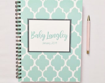 Pregnancy planner, pregnancy diary, personalized pregnancy journal, maternity diary, pregnancy tracker, pregnancy countdown, maternity gift