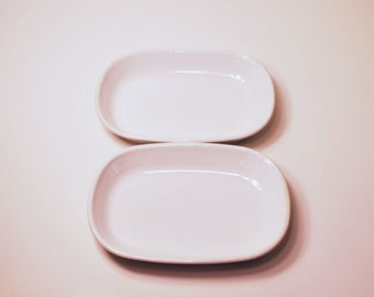 2 Vintage Corningware Sidekick dishes P-140-B
