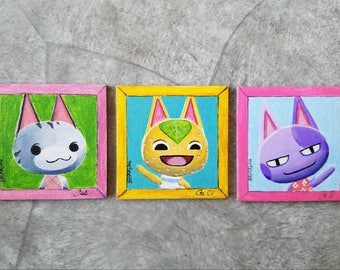 PICK YOUR VILLAGER Animal Crossing Villager Pic Canvas Magnet
