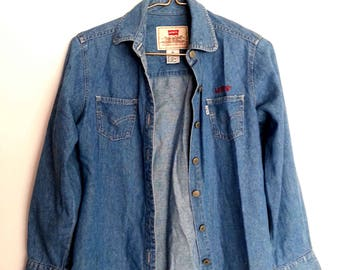 Genuine Levis Denim Shirt XS