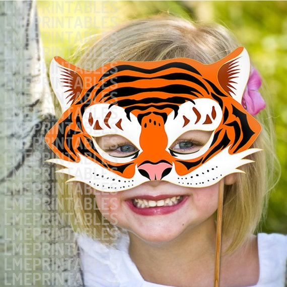 Gratifying image intended for tiger mask printable