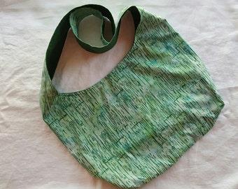 Crossbody Hobo Bag - Green