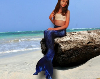 swimmable mermaid tail -  Sea Scape - MONOFIN NOT INCLUDED