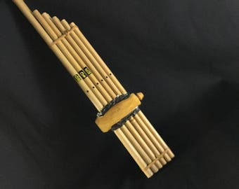 "Thai Laos and Isan Music Instrument Khene M Size 17""inch"