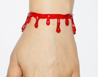 VonErickson's Original  Blood Drip Bracelets  - Limited time .........  2 Pc Set