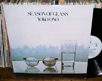 Yoko Ono Season Of Glass Vintage Vinyl Record