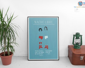 Nacho Libre - Character Posters - Choice of Three - High Quality Art Print