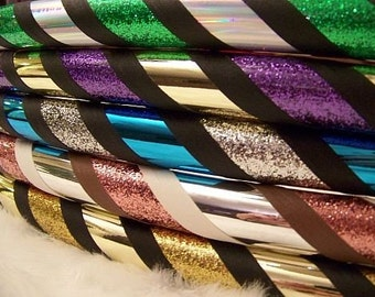 Design Your OwN CuStOm Travel Hula Hoop - Choose ANY 4 Colors & Size. BeSt Selection of Tapes Online. Pro Hoops with Over 30,000 Sold!