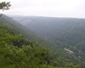 West Virginia Bridge Print