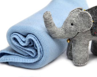 100% Cashmere Baby blanket set (blanket, hat, socks) FREE shipping