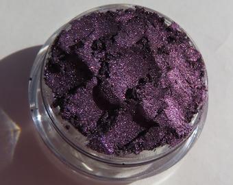 Dark Royal Plum Purple Mineral Eyeshadow | Loose Pigments | Cruelty-Free | Vegan Mineral Eye Shadow - Destiny