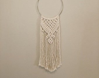 Macrame Ring Wall Hanging
