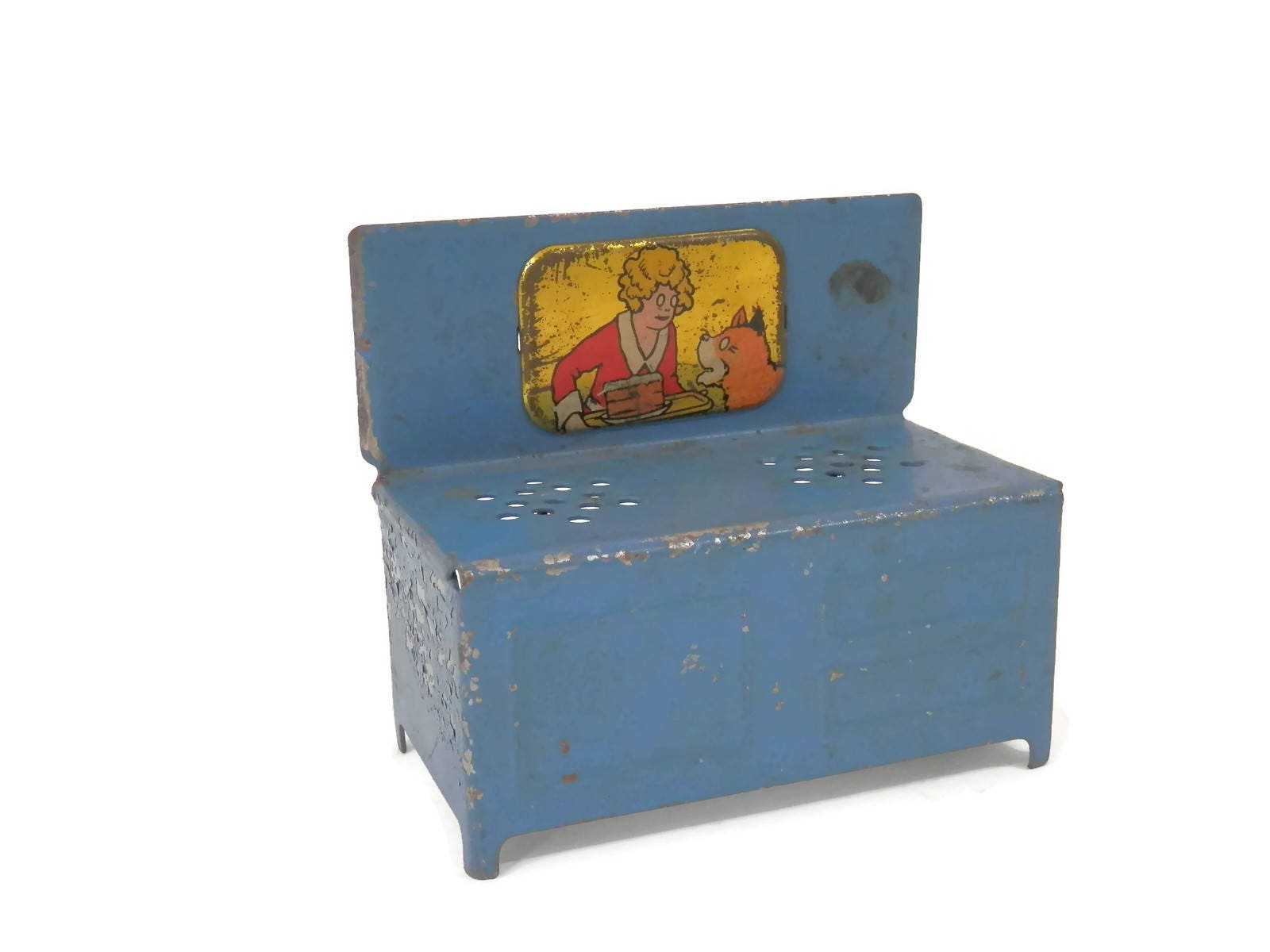 Little Orphan Annie Miniature Stove Doll Furniture Doll House