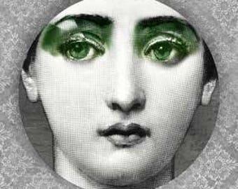 Lina Cavalieri Green Eyes III plate