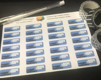 Weight Watchers Planner Stickers