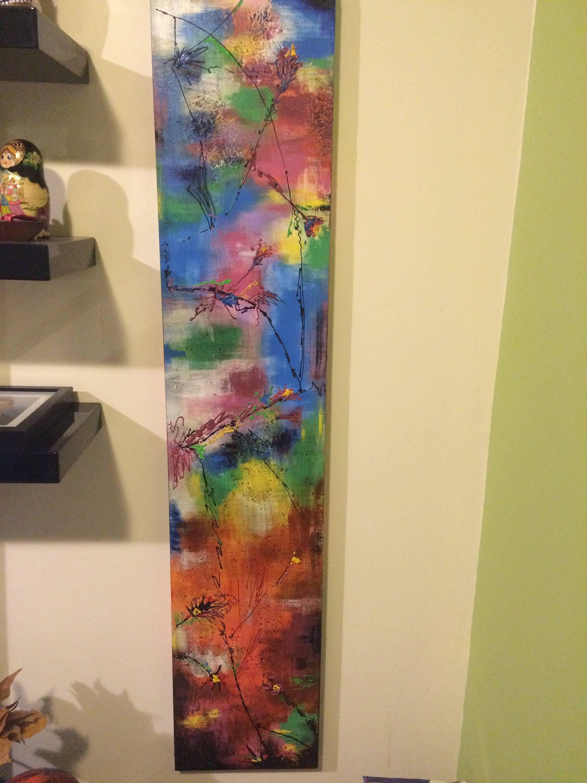 Abstract painting 4 seasons