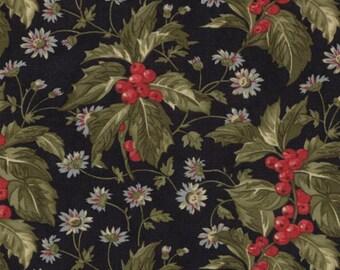 Wintergreen Ebony - Black - 3 Sisters - Moda - Christmas - 752106033597