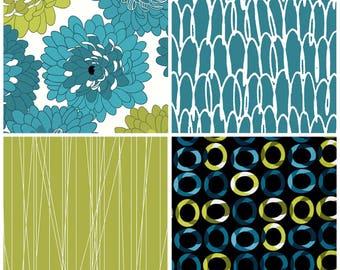 Contempo Studio Fresh Bloom Collection, Half Yard Cuts