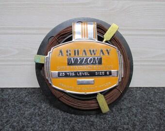 Vintage Ashaway Nylon Flyline/Fishing Line