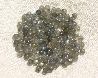 10pc - stone beads - Labradorite balls 3mm 4558550004383