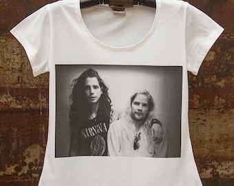 Chris Cornell Andy Wood Women T-shirt
