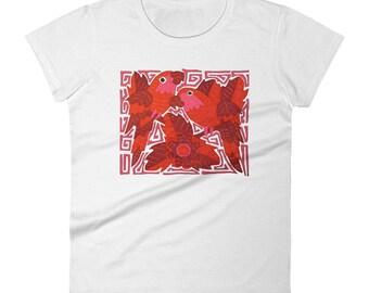 Parrots - Women's t-shirt