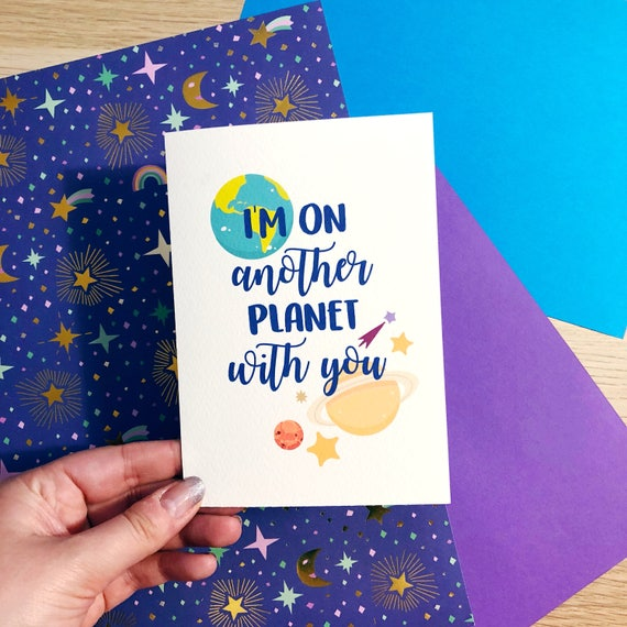 Im on another planet with you valentines cute like this item bookmarktalkfo Image collections