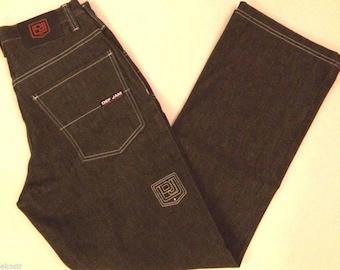 New PHAT FARM jeans oldschool baggy loose vintage 90s hip-hop clothing, 1990s hip hop shirt, og, gangsta rap, NWT size W32 W36 W38 W40