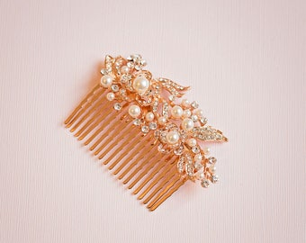 Bridal hair comb, Bridal Headpiece, Vintage hair comb, Bridal headpiece, Rhinestone hair comb, Silver hair comb, Silver Hair vine