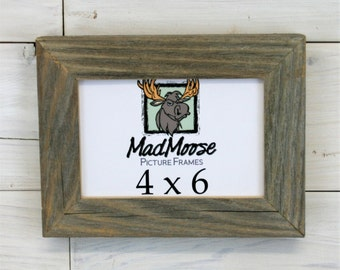 """4x6 Barn Wood [Chunky x 1.25""""] Picture Frame"""