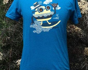 Surfin' Burger unisex t-shirt