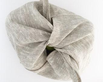 Azuma bukuro / bento project, produce, gift bag in linen