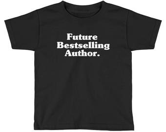 Future Bestselling Author Kids Shirt  | Author shirt | writer | author gift | writer shirt | writer gift | book lover shirts | book lover