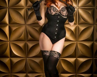 Custom Made Long-Line Fashion Under Bust Corset