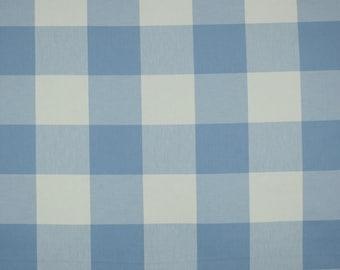Buffalo Check Blueberry Cotton Fabric