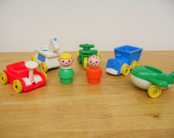 Vintage Fisher Price Little Riders with Kids