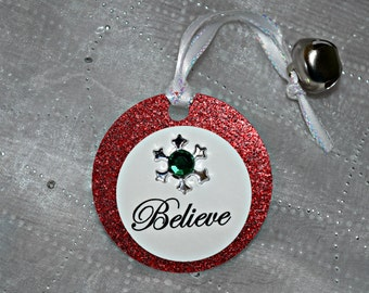 Polar Express Party Favor / Polar Express Bell with Believe Tag / Class Christmas Gift / Class Favor / School Favor / Christmas Tag