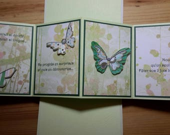 To order * twist and pop custom card