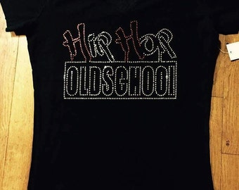 Bling Old School Hip Hop Tee